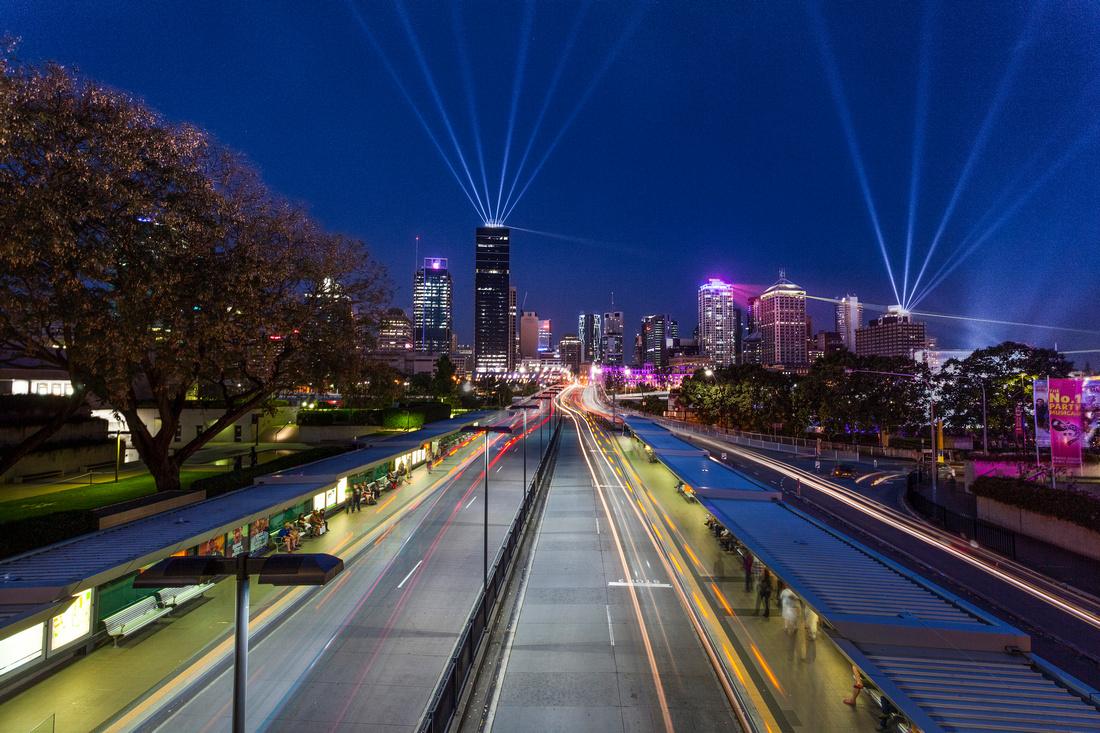 Santos GLNG City of Lights 2013
