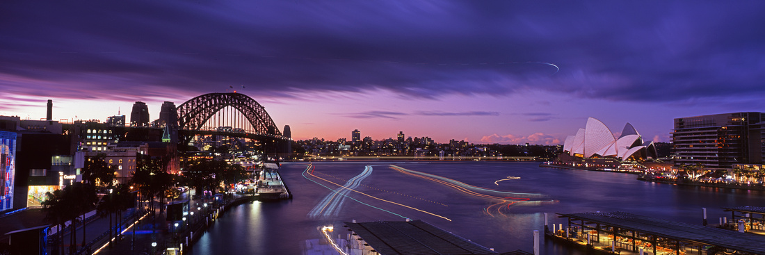 Cahill Expressway Sunset