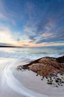 Round Hill Point Sunset, Bay of Fires, Tasmania