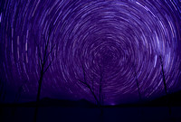 Lake Moogerah Star trail