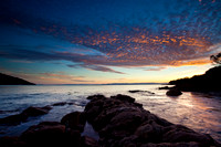 Sunset, Coles Bay, Freycinet National Park