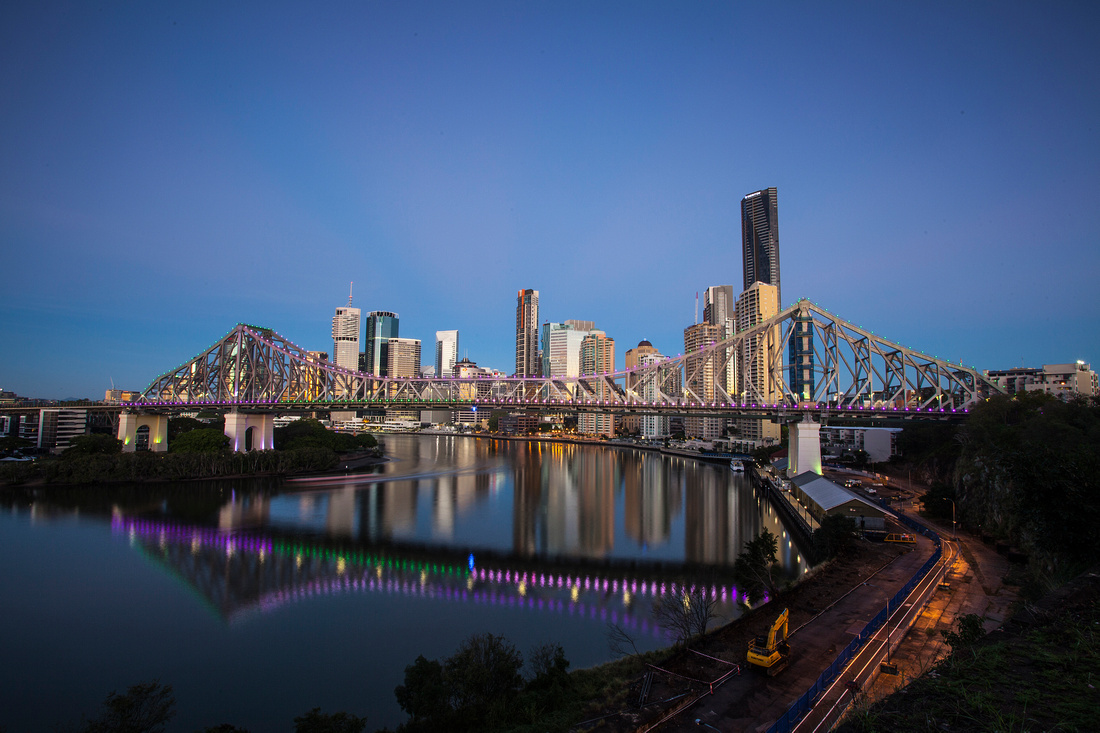 Brisbane this morning...