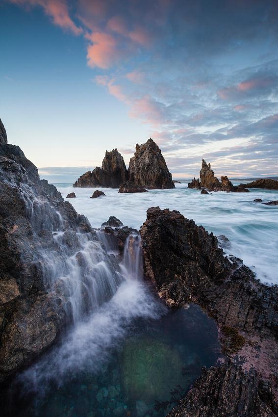 Camel Rock Waterfall