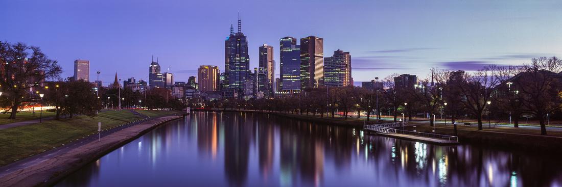 Melbourne City Dawn