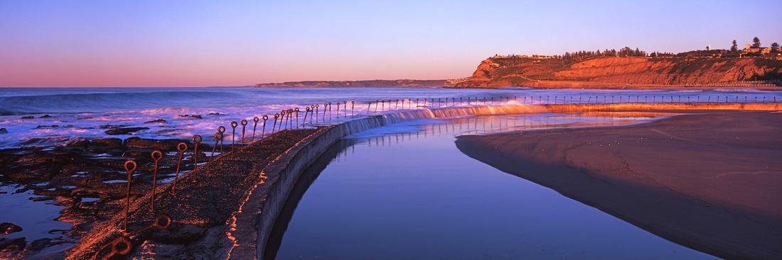 Newcastle Ocean Baths Sunrise