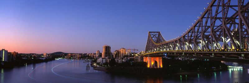 Brisbane City Dawn