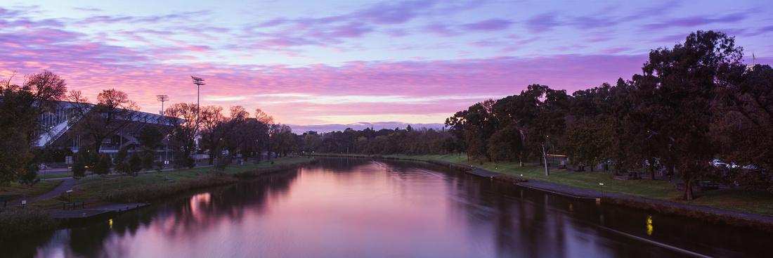 Pink Yarra Sunrise